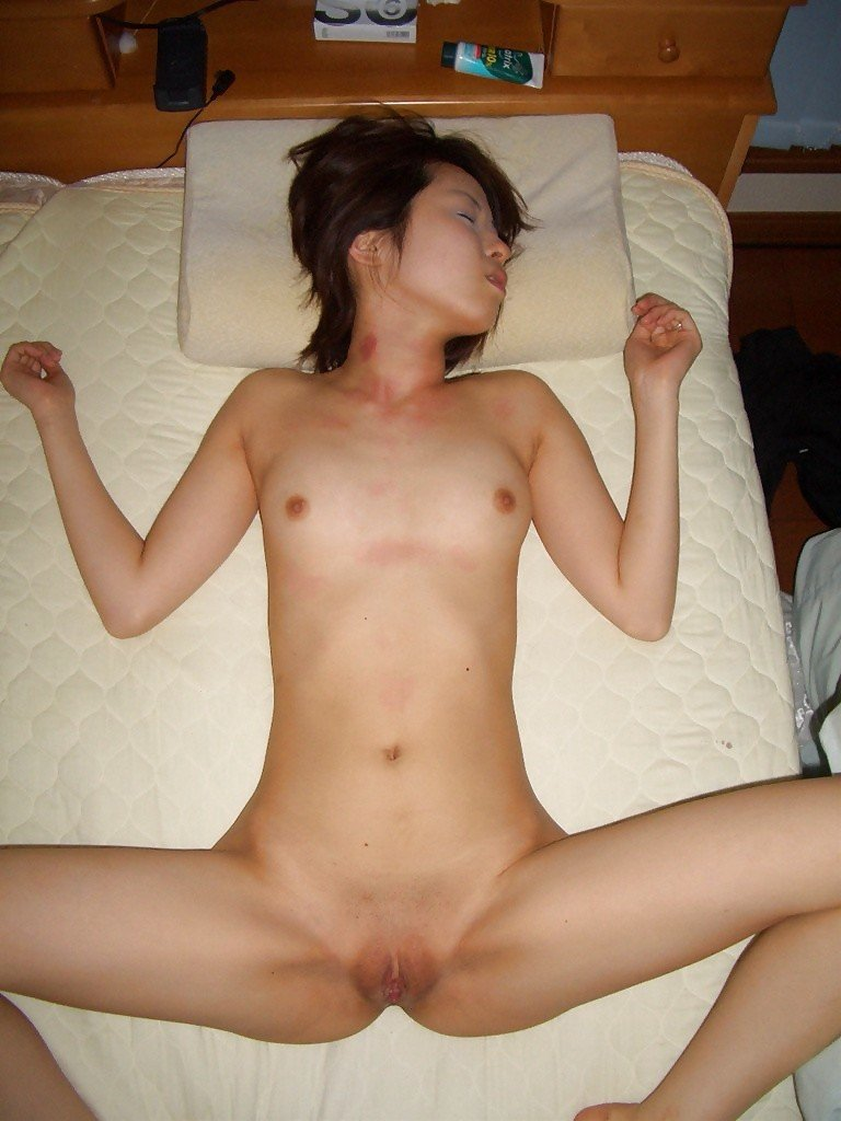 Asian clothes torn off
